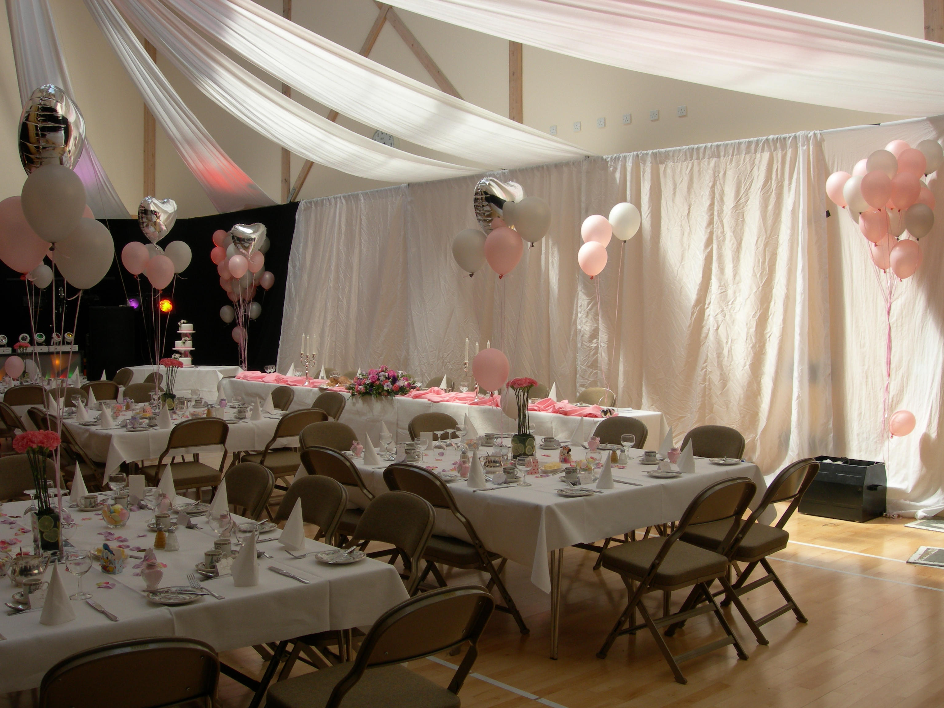 Village Hall Wedding Reception 2