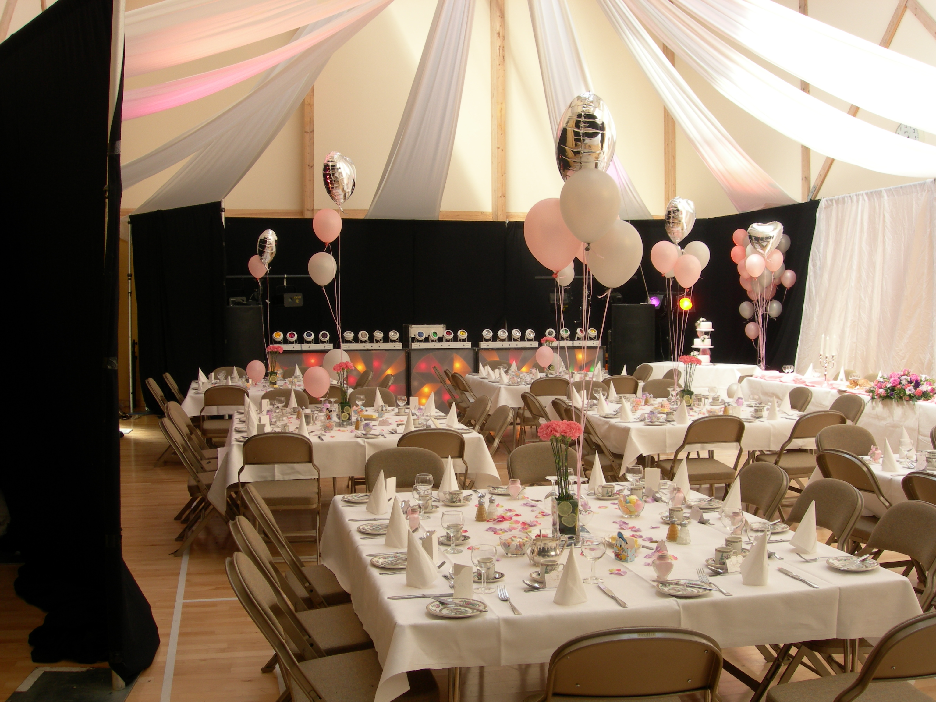 Village Hall Wedding Reception